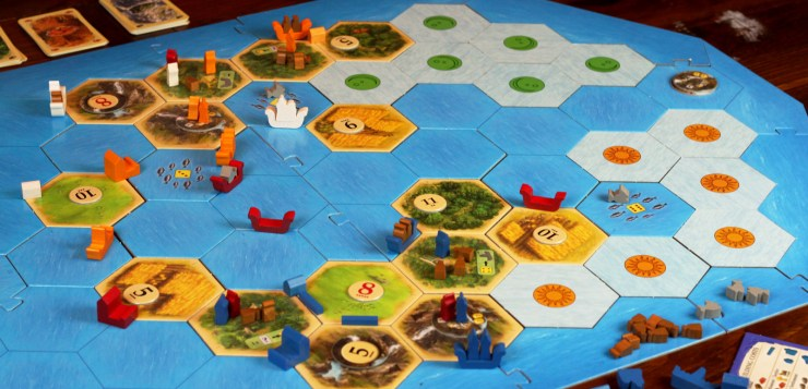 Sea to Shining Sea (A Review of Catan: Explorers and Pirates)