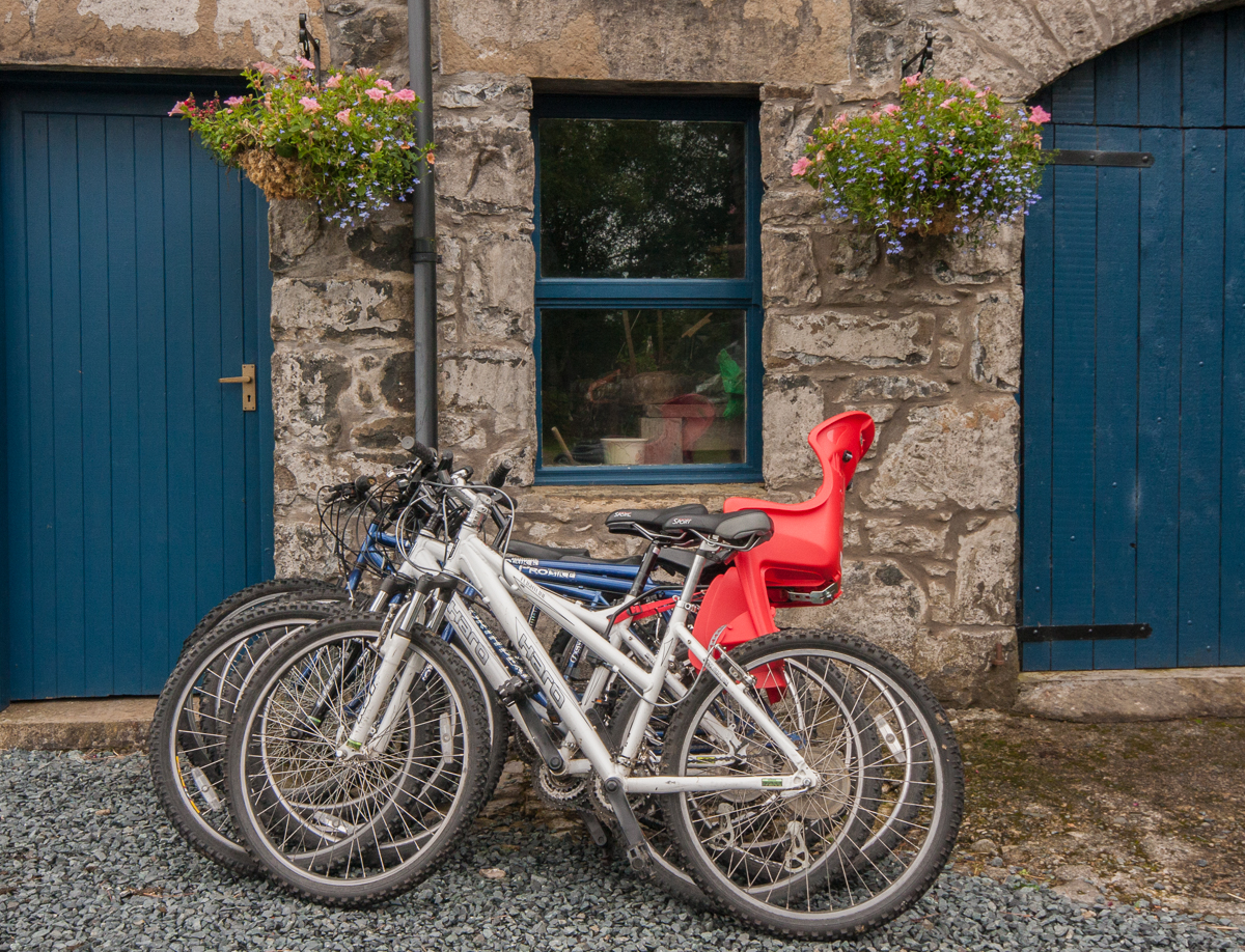 Infant Carrier Behind Bike Cycling On Mull 5 Things To Consider Isle Of Mull Self