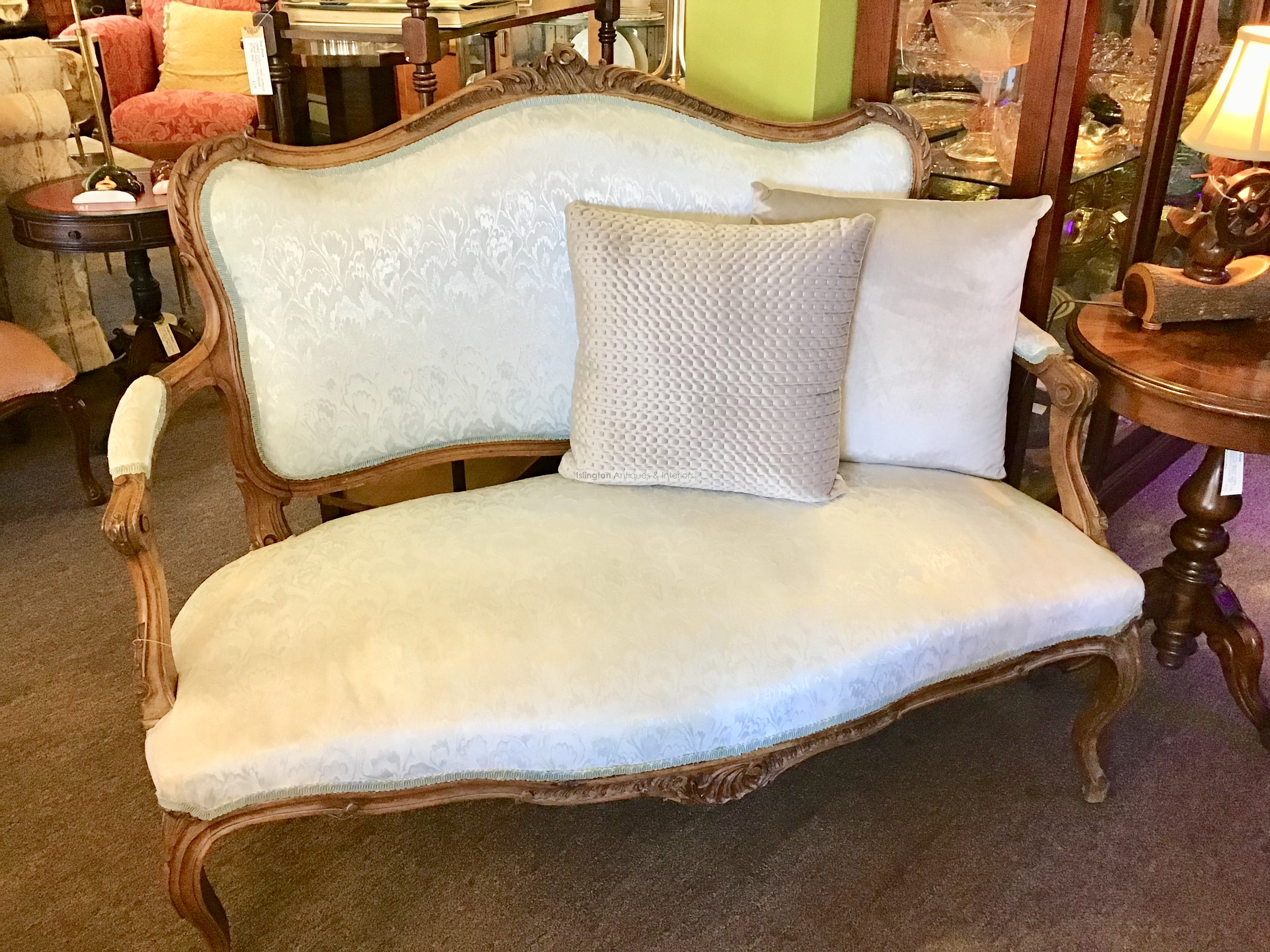 Vintage French Louis Style Sofa Islington Antiques And Interiors