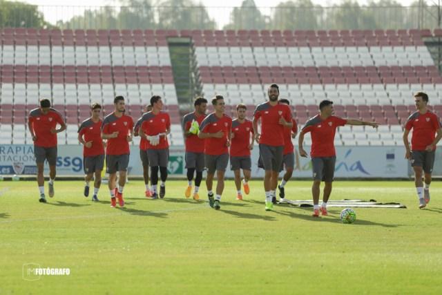 Primer entreno Sevilla FC 15/16