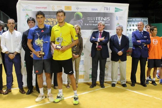 Pedro Cachin campeón de la Copa Sevilla 2015. Foto: Dtpo. Comunicación Club Tenis Betis.
