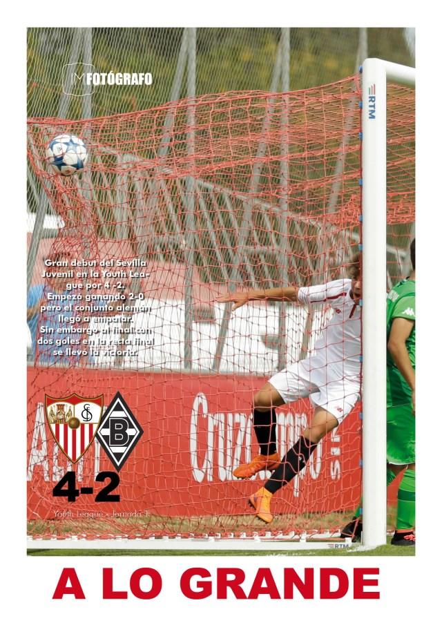 Pulsa la imagen para ver el resumen del Sevilla - Borrusia de la Youth League.