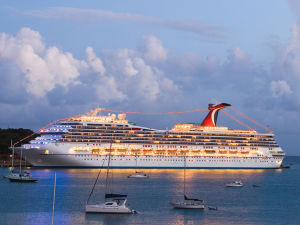 Carnival Valor St. Thomas