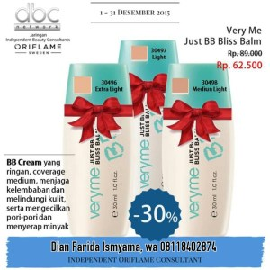 Just BB Blish Balm Very Me Oriflame