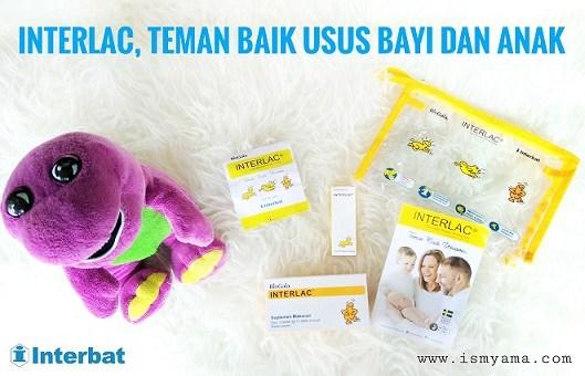 INTERLAC sebagai teman baik usus bayi dan anak