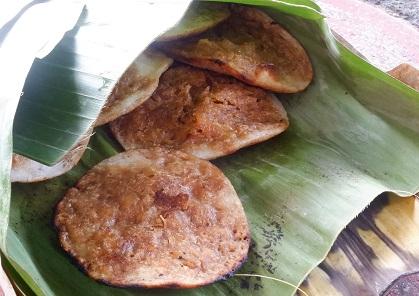 serabi kelapa parut