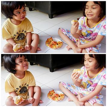makan pizza
