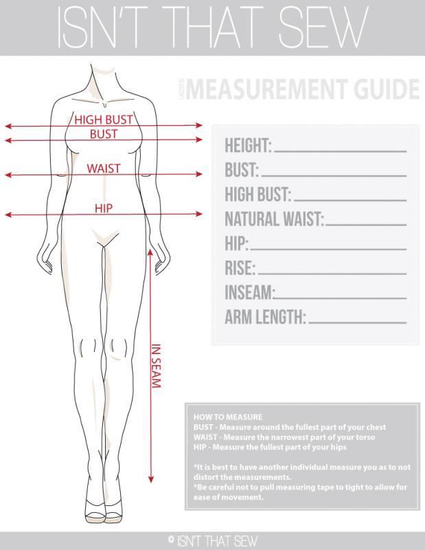 Pattern-Making Basics How to take Body Measurements - Isn\u0027t that Sew