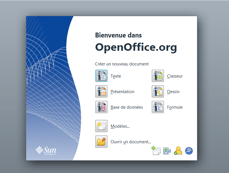 base de donnees de cv open office