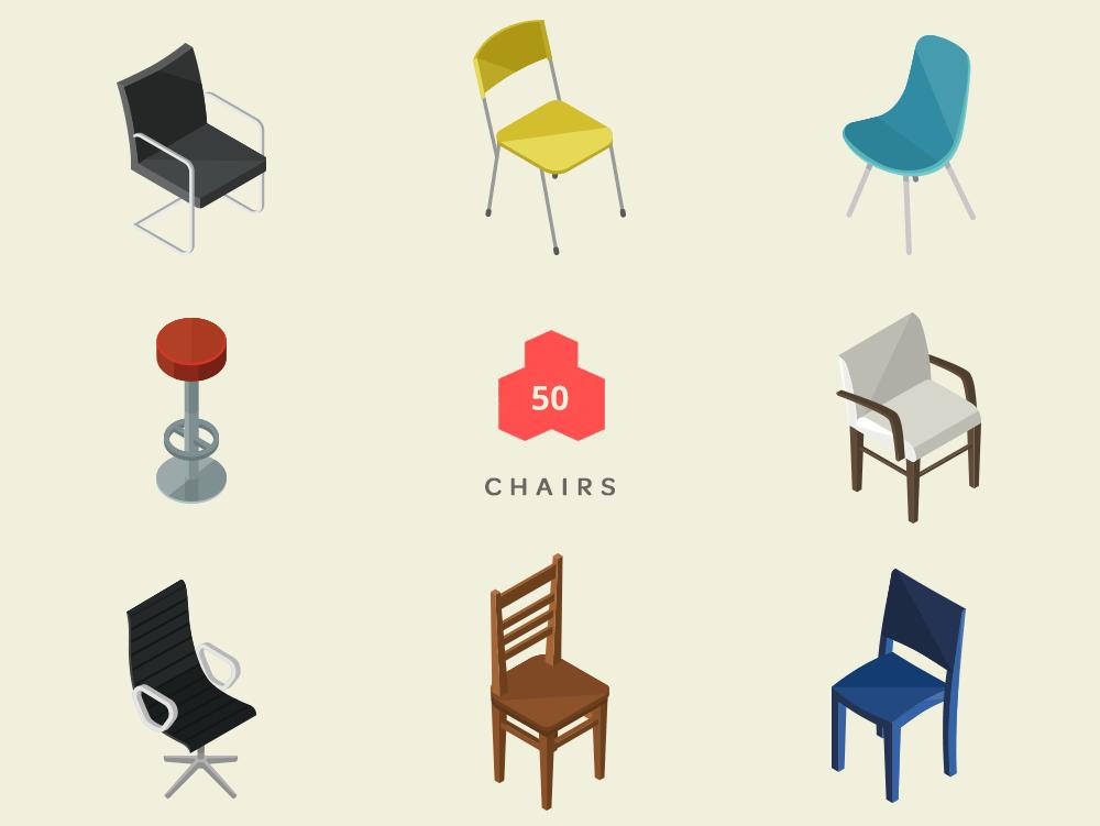 Isometric chairs