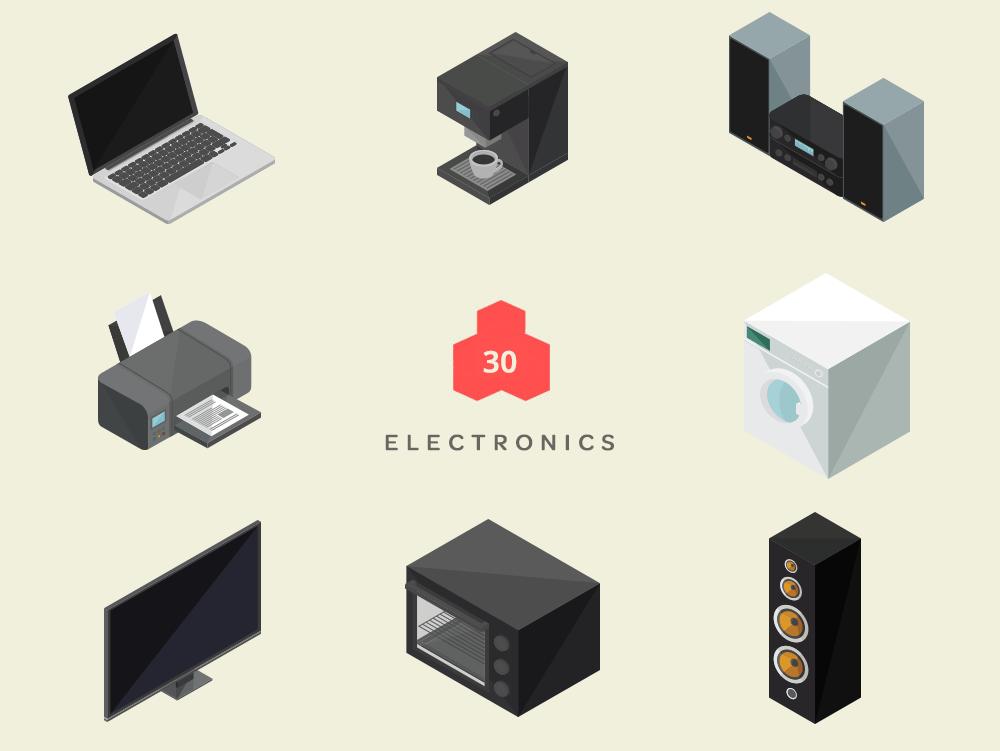 Isometric-Electronics