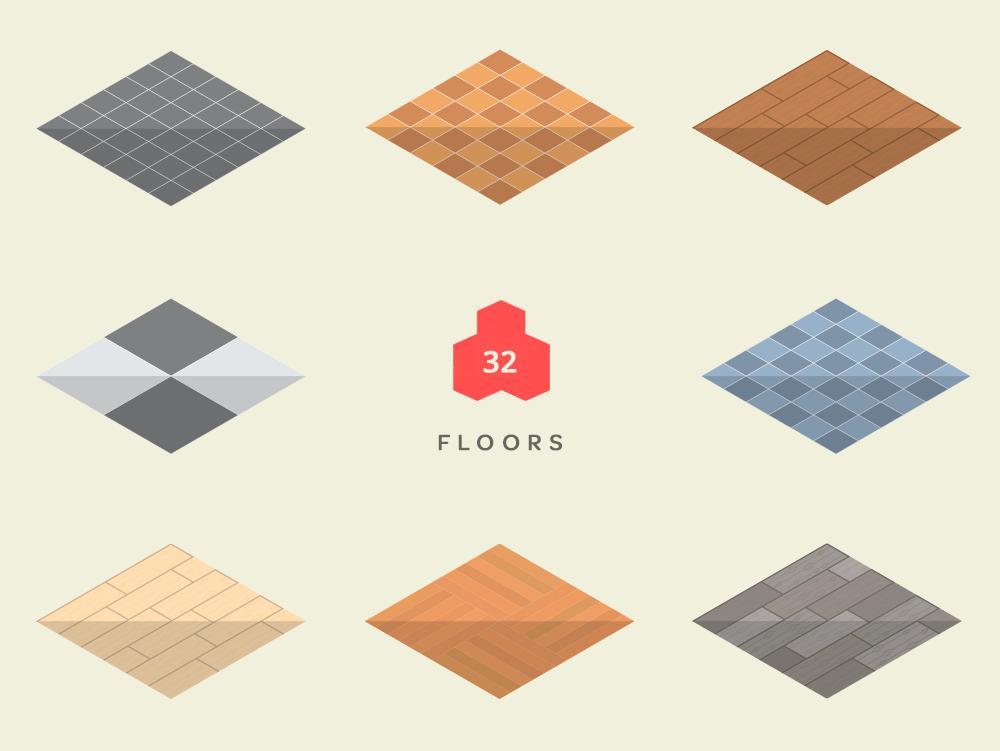 Isometric Floors