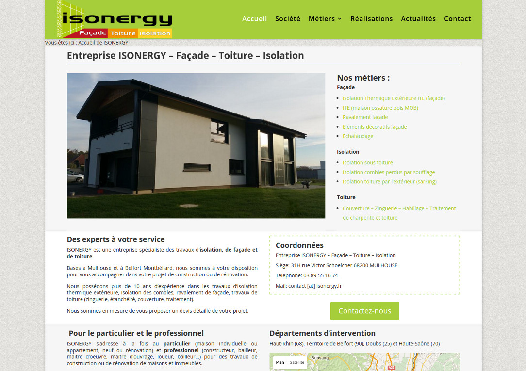 Isolation Exterieur Doubs Nouveau Site Internet Isonergy Fr Isonergy