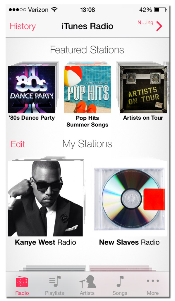 iTunes Radio preview good, but needs polish iSource