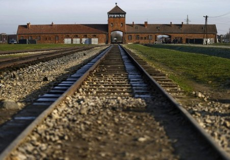A view of the former Nazi concentration camp Auschwitz-Birkenau is pictured in Brzezinka near Oswiecim December 10, 2014. Next month, ceremonies will mark the 70th anniversary of the camp's liberation. REUTERS/Kacper Pempel (POLAND - Tags: CONFLICT POLITICS CIVIL UNREST ANNIVERSARY)
