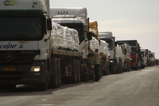 Humanitarian Aid Allowed Into Southern Gaza