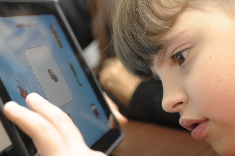 First place for Beit Issie Shapiro in Microsoft Award Children at Beit Issie Shapiro benefit from playing with apps