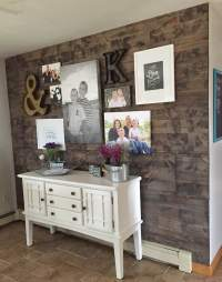 How To Fake a Reclaimed Wood Wall
