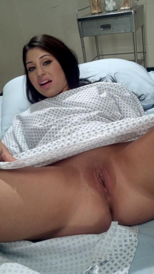 hospital patient undressed