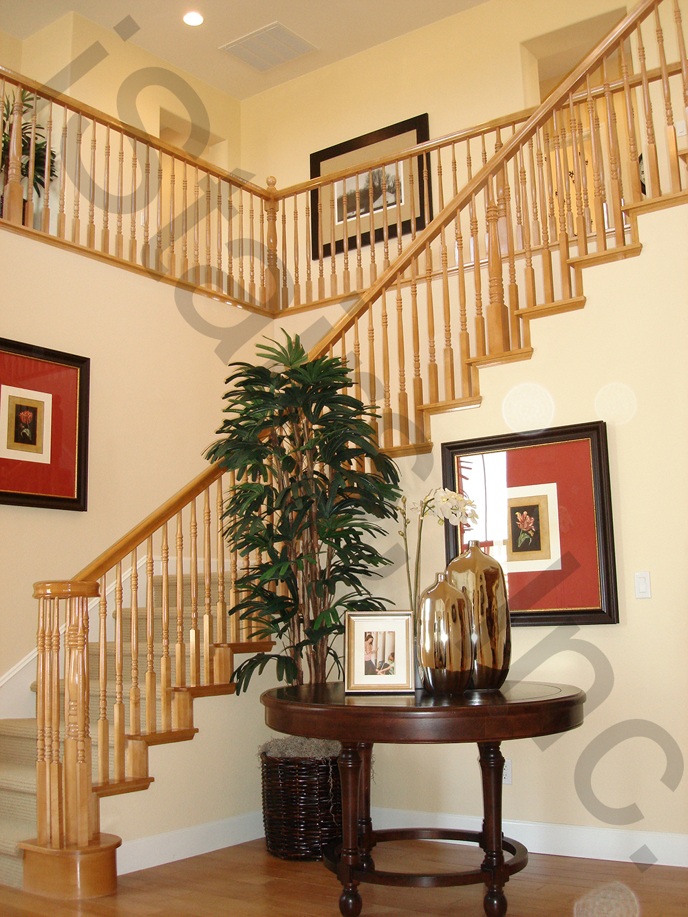 Remodel Designer Maple Staircases | Istairs, Inc.