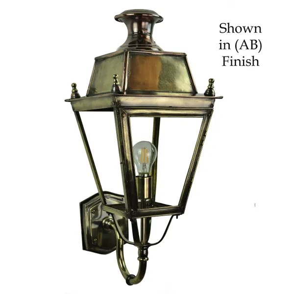 Street Lamp Flush Factory (425) Balmoral Wall Light (small) | The Limehouse Lamp Co