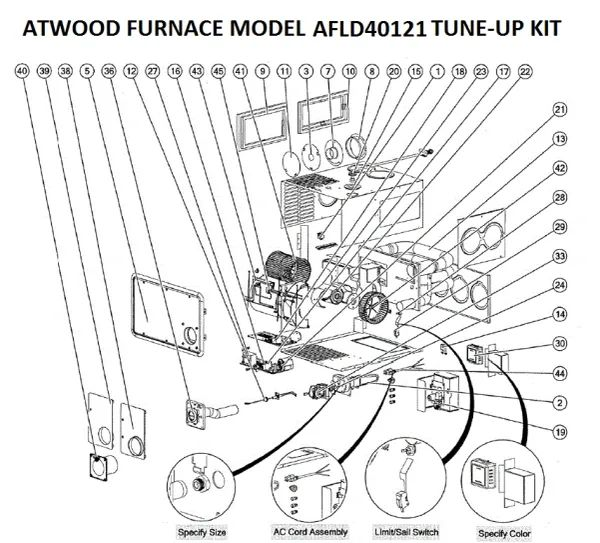 wiring a furnace fan delay