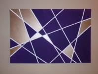 Geometric Wall Art DIY   Wandering