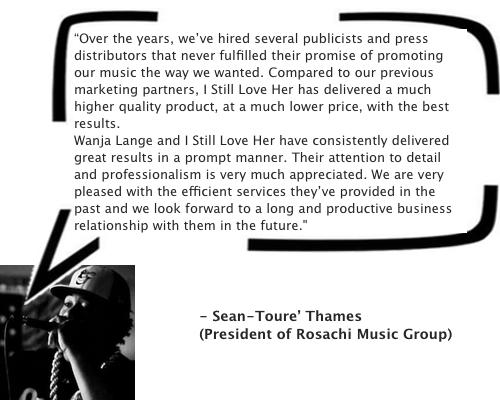 Testimonial Sean Toure
