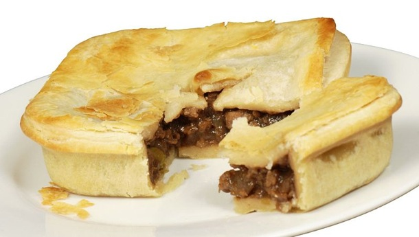 """Veganer """"Fleisch""""kuchen. Wikipedia, BY-SA 3.0, Pengo"""