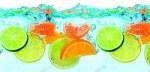 Цитрусы в воде