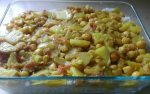 Indian style chickpeas and potatoes