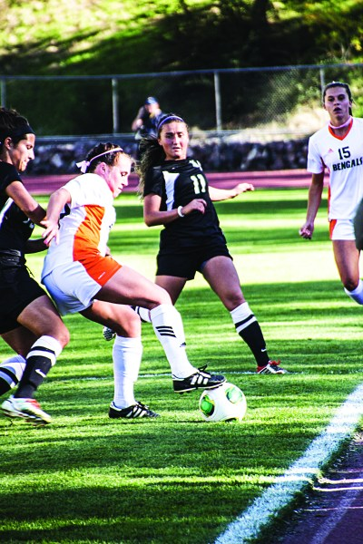 Women's Soccer played two home games on Oct. 3 and Oct. 5.
