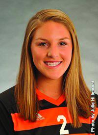 Midfielder Lauren Bermudez.