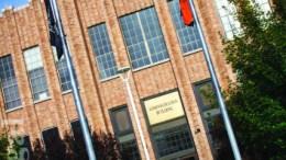 ISU Administration building