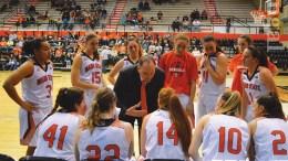 ISU women's basketball team