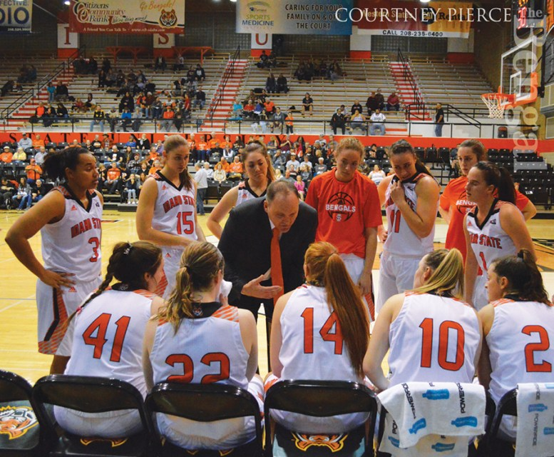 ISU women's basketball team