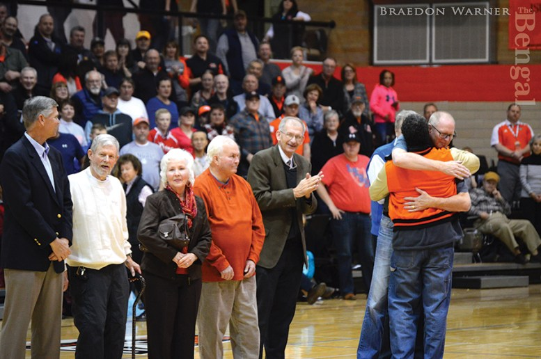 1976-77 team honored