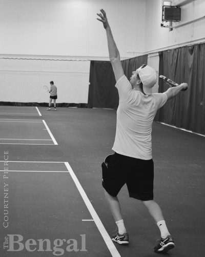 ISU men's tennis player