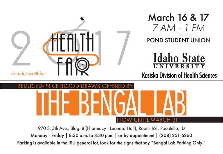 2017 Bengal Lab Health Fair