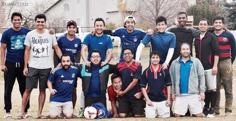 Nepalese Student Association soccer team