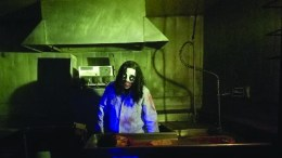 Scene from Fear on Fifth haunted house