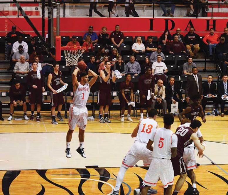 ISU men's basketball game