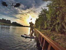 SUP Sommer Spaß Lippe Kanal