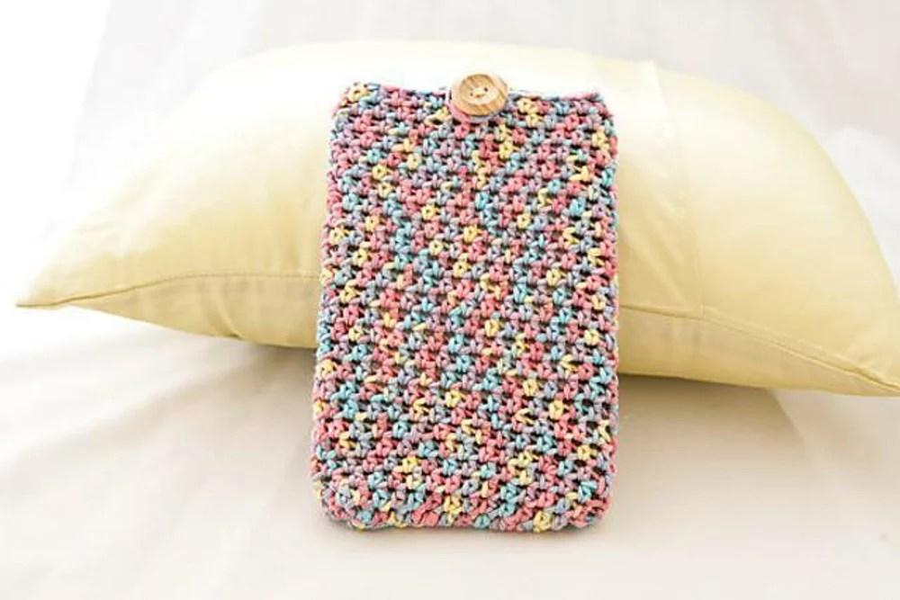 Cozy Plain Kindle Cosy Crochet Pattern By Little Lighthouse Yarns
