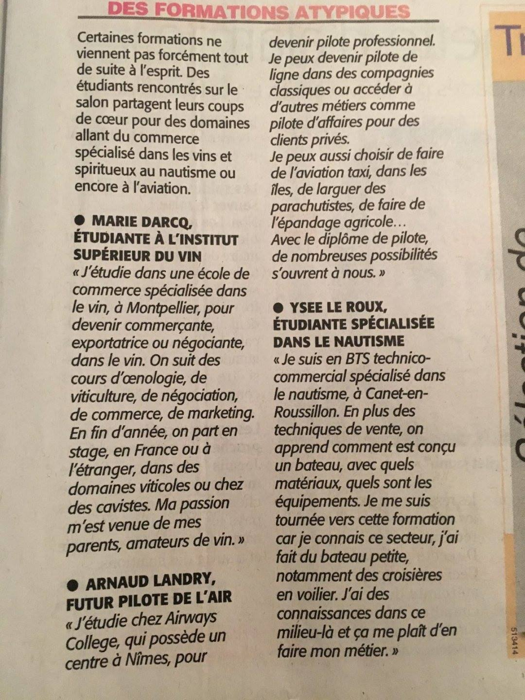 Salon étudiant Montpellier Interview Salon De L 39etudiant 2019 Midi Libre Isvin