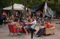 Macaristan: Halk Şehir Parkına Müze Yapılmasını Engellemek İçin Parkı İşgal etti