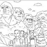 Disegni da colorare - Statua della Libert