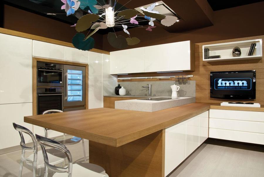 Beautiful Piano Cucina In Legno Contemporary - Lepicentre ...