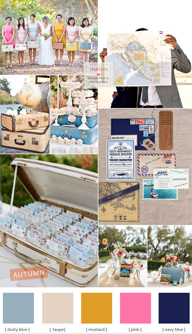 Travel Theme Ideas Vintage Travel Themed Wedding Travel Inspired Wedding Ideas