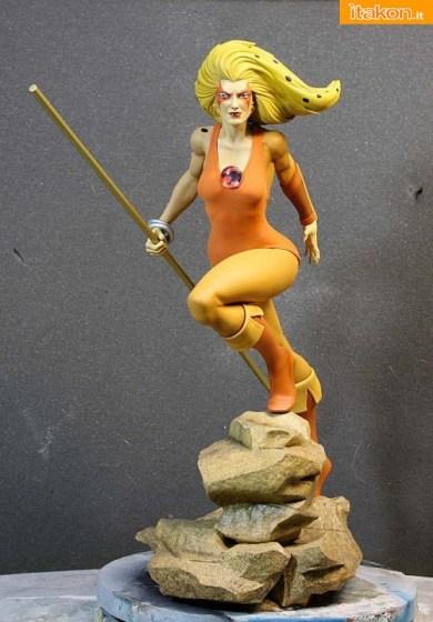 ThunderCats: Cheetara 1/4 Statue dalla Pop Culture shock - Prime immagini ufficiali